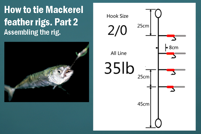 Mackerel Spinners And Mackerel Feathers Lure Set  Free Post