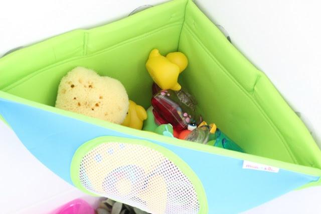 Baby bath toy tidy
