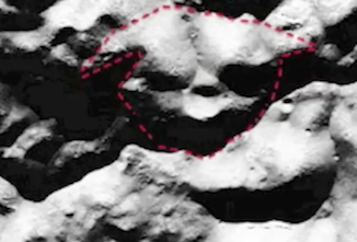 Yoda Face Found On Moon, New Alien Species, Jedi R REAL.