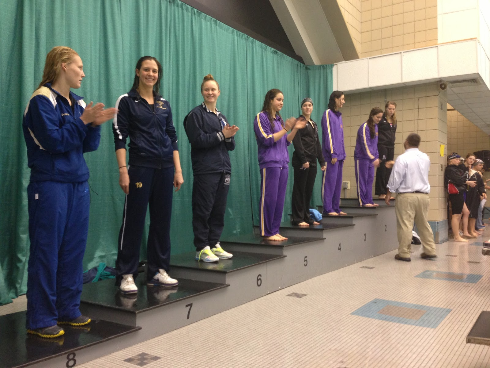 Trinity College Swimming Diving Nescac 39 S Day 2 New 100 Fly 100 Breast 200 Free 800 Free