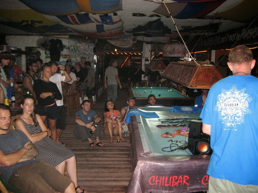 Shark Guardian presentation Moalboal, Philippines, audience