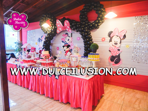 decoracion fiesta infantil de la minnie coqueta decoracio de fiestas infantiles lima peru