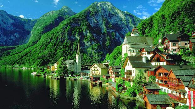 nature of austria wallpaper