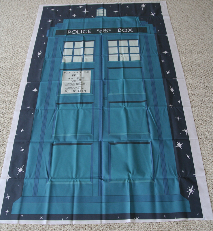 Quilts Of A Feather Tardis Quilt Beginnings