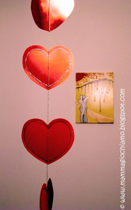Mamma giochiamo decorazioni per san valentino cuori - Decorazioni cuori ...