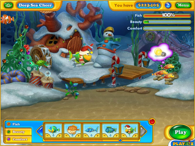 Game Fishdom Frosty Splash
