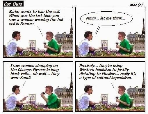 Sarkozy bans Muslim veil
