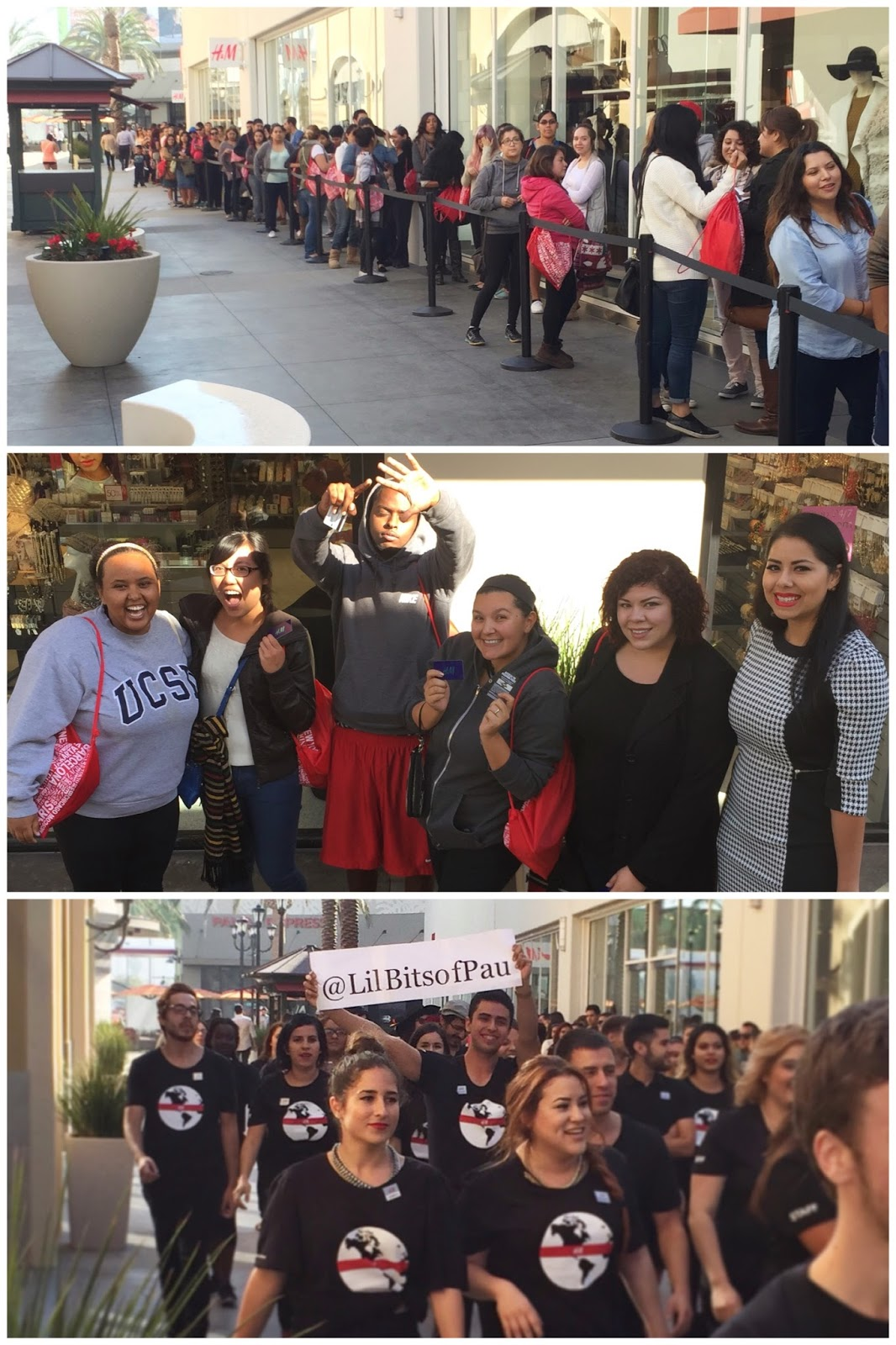 San Ysidro Outlets: H&M Grand Opening, Outlets at the Border H&M