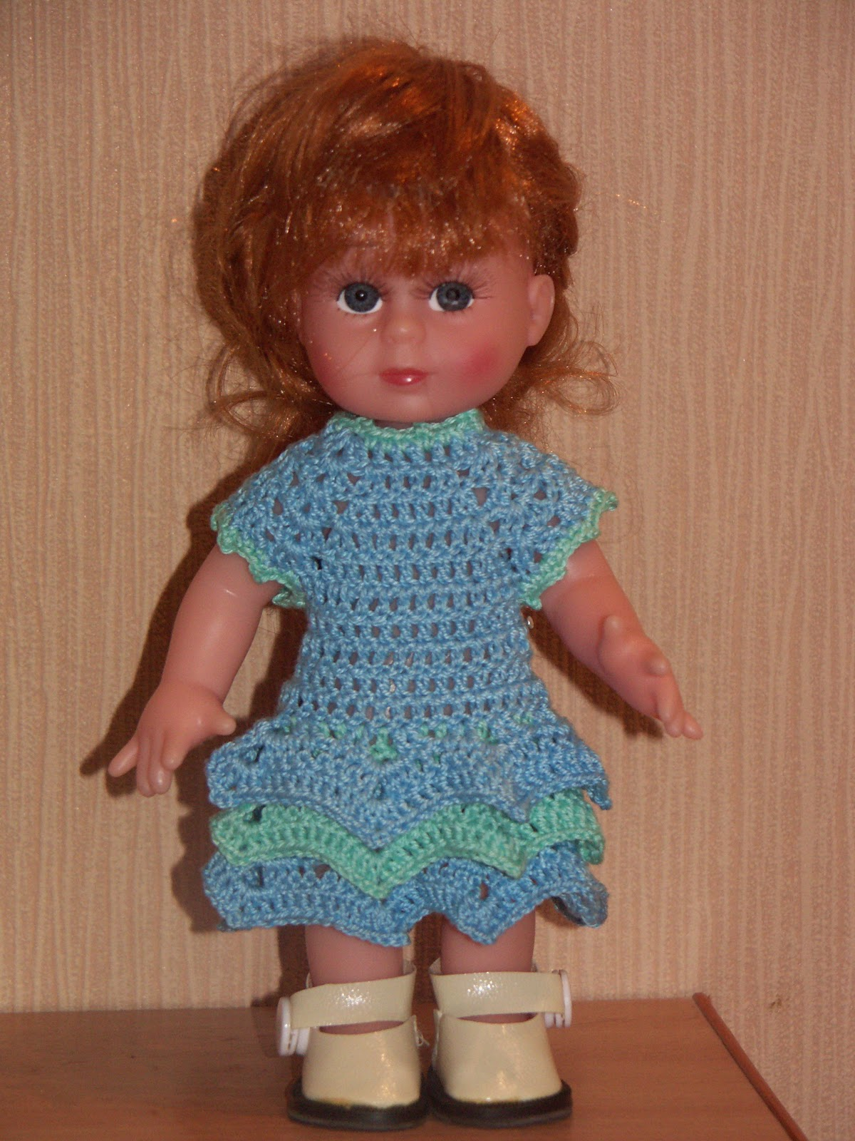 Вязаная одежда для больших кукол своими руками