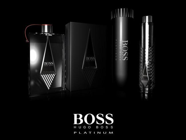 Hugo Boss Platinum Student Work On Packaging Of The