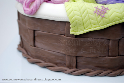 Knitting Cakes Images : Mom s knitting basket cake sugar sweet cakes and treats