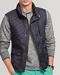 Brick and Ivy: The High/Low Project : tommy hilfiger quilted vest - Adamdwight.com