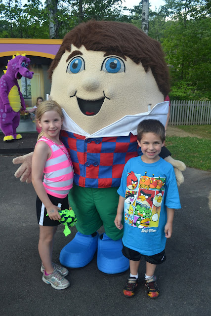 Story Land Glen, NH Character Dinner