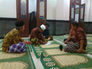 Rapat Formatur Takmir Masjid Perak 2013