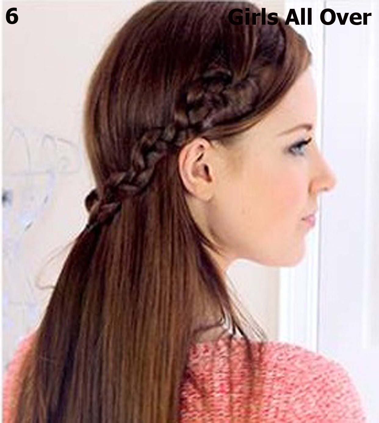 Girls Fashion And Style Hair Styles How To Make Easy And Simple Spiral Braid Hairstyle For