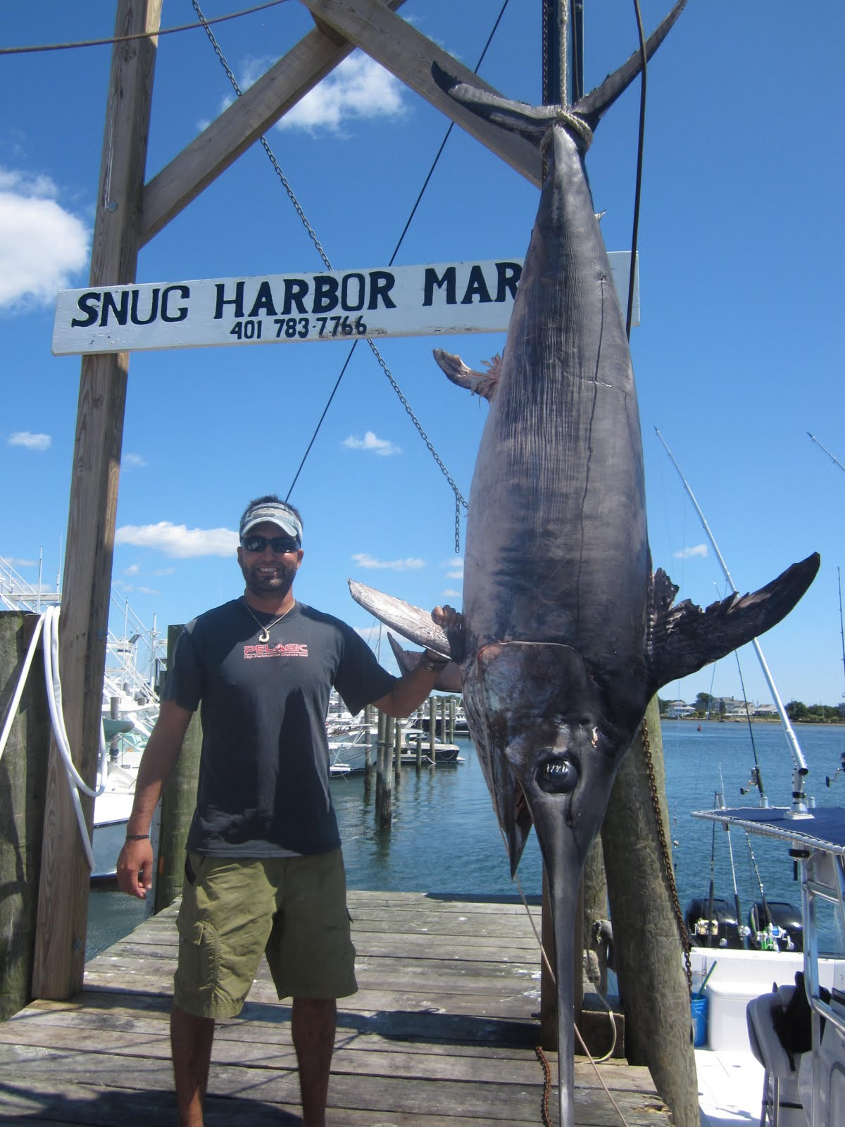 Hot reels sport fishing charters hot reels lands a rhode for Ri fishing charters