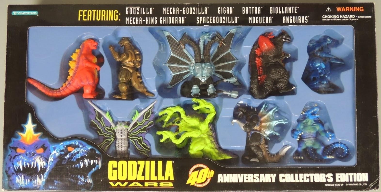the sphinx: Godzilla Wars - 40th Anniversary Boxed Set ...