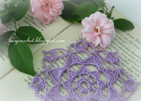 Lacy Crochet Miniature Doily My Free Pattern