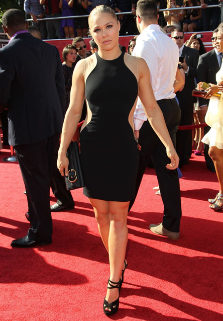 Ronda Rousey Red Carpet Pictures