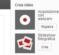 Creare video di foto su Youtube