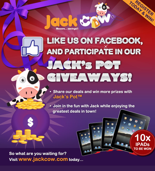 what is jackcow com Up to 50% off from jackcow today's verified jackcow promo codes, discount codes and coupons.