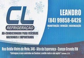CL Refrigeração - Campo Grande/RN