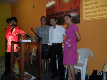 Missionários em visita a IBVV
