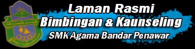 Laman Rasmi Bimbingan & Kaunseling SMK Agama Bandar Penawar