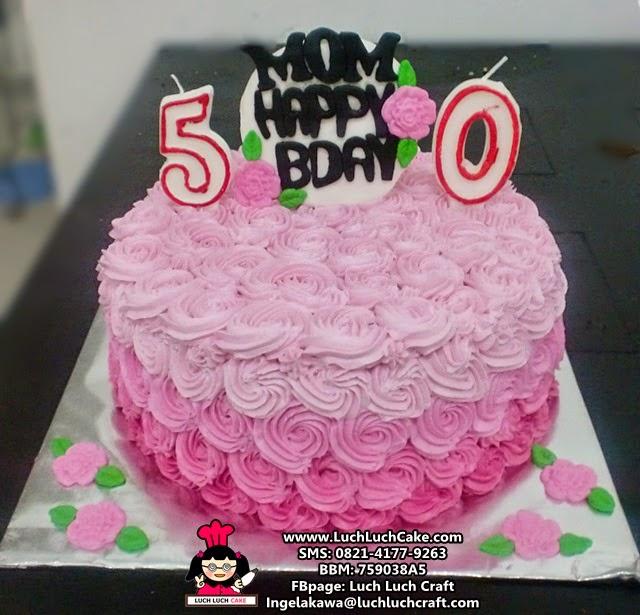 Kue Tart Ulang Tahun Untuk Ibu Daerah Surabaya - Sidoarjo