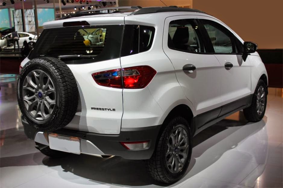 Novo Ecosport 2014 Branco