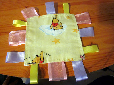 Crinkle Taggie Baby Soother
