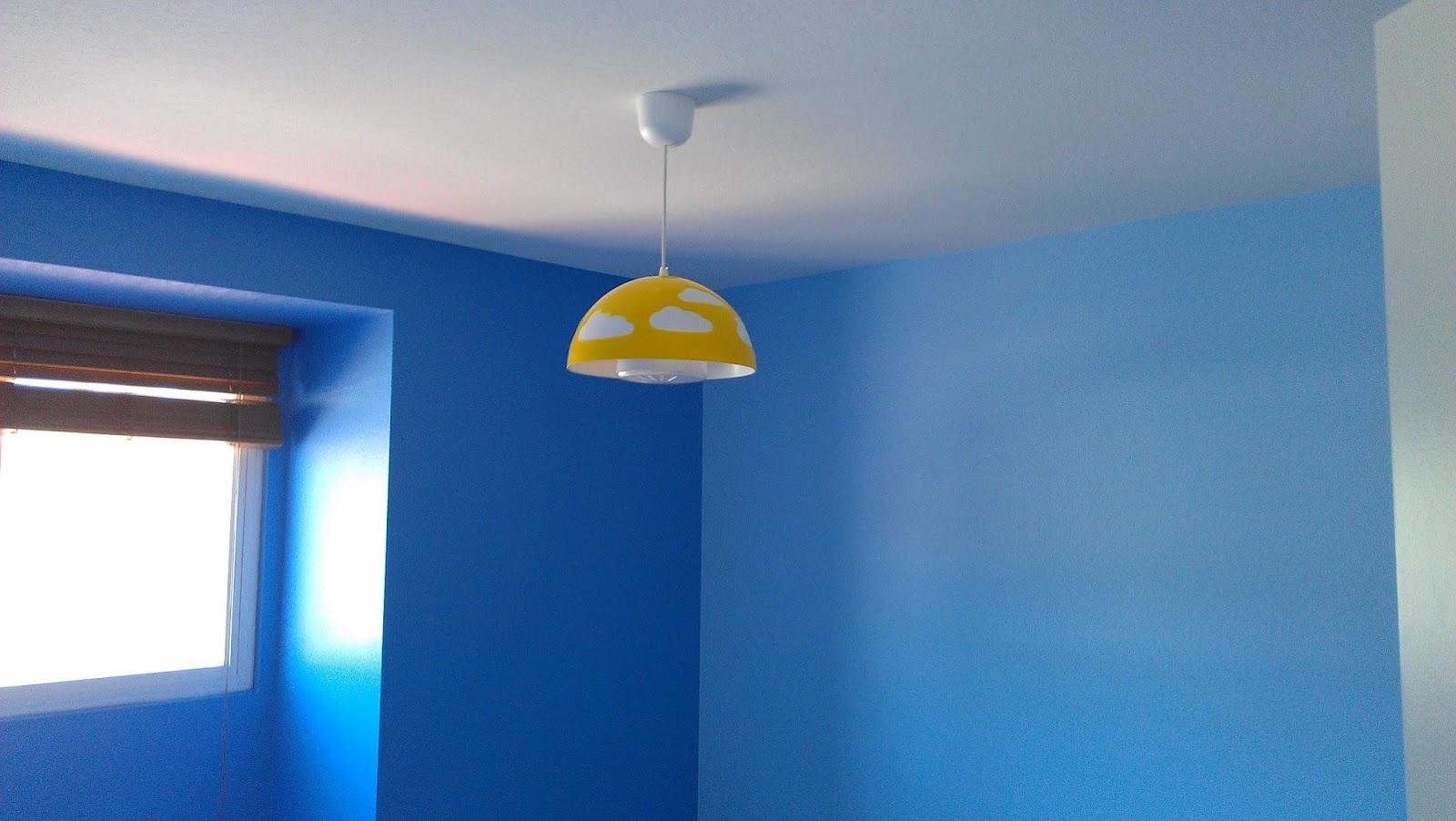 Vita a san diego 1014 renovation giorni 16 17 e 18 - Camera da letto azzurra ...