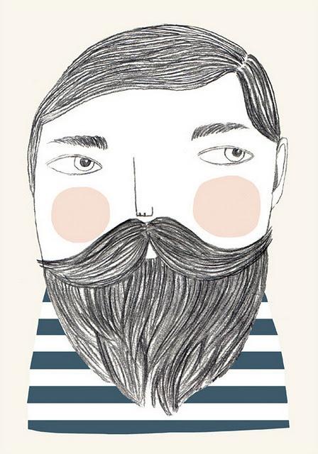 Los hombres se dejan barba