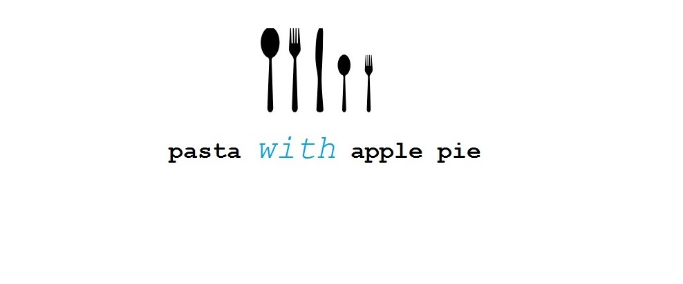 pasta with apple pie