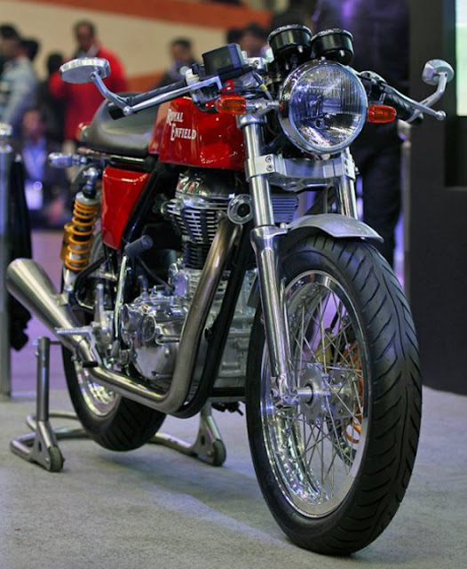 Royal Enfield Cafe Racer New Model India Auto Expo 2012Photo 1