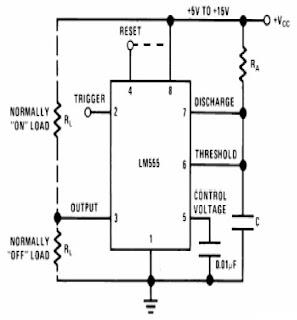 Cara Kerja Astable Multivibrator