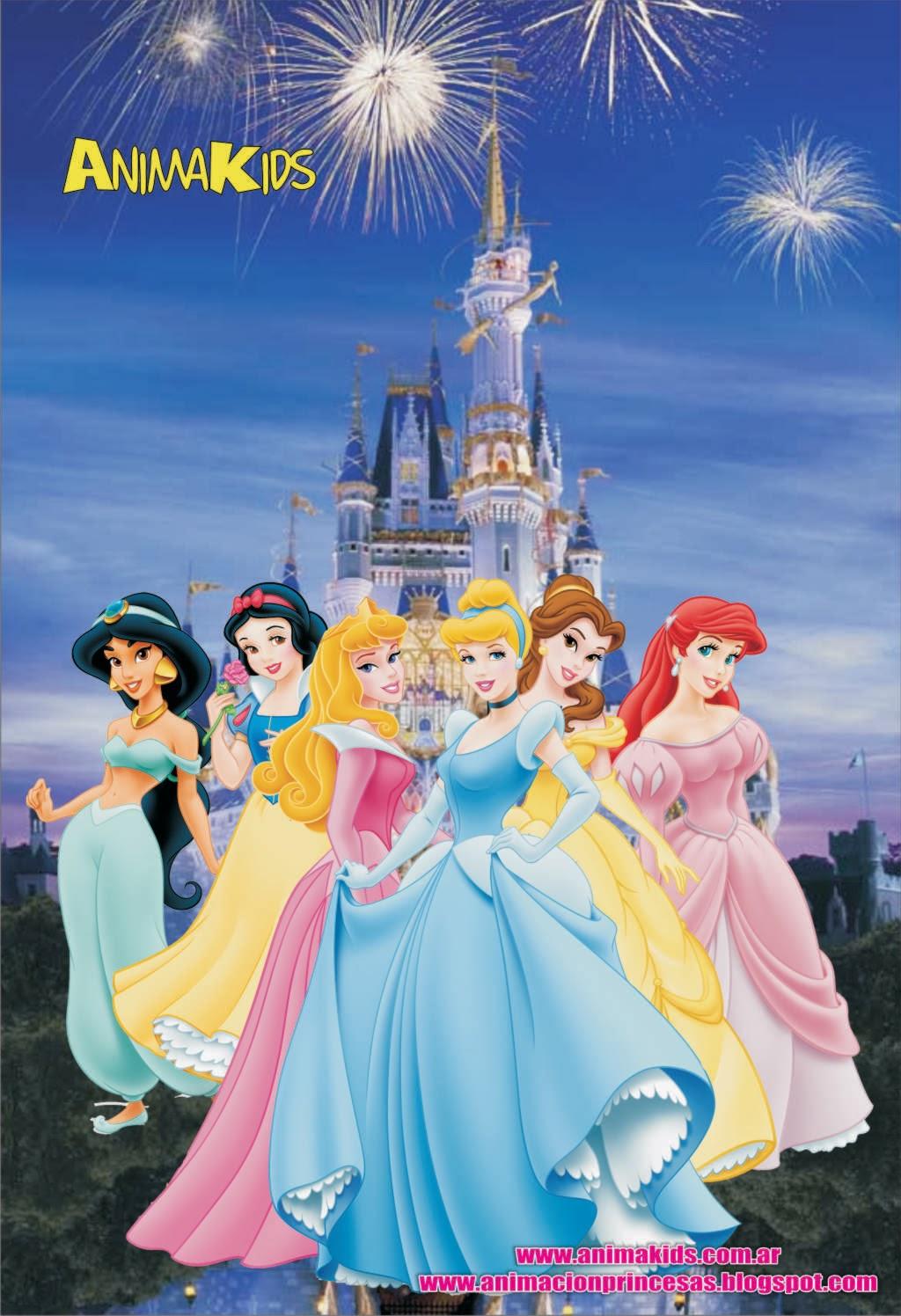 animación princesas
