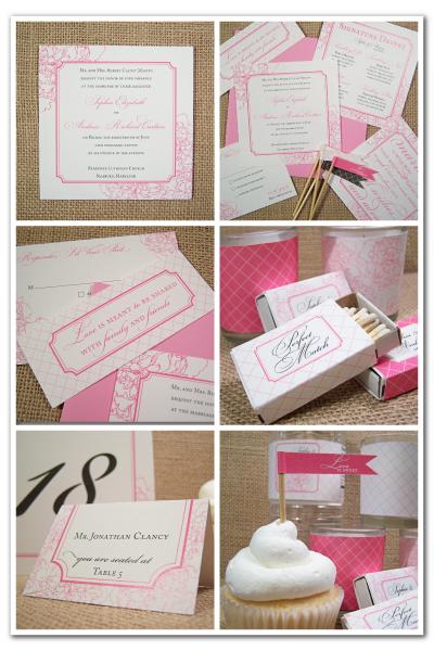 harmony peony wedding stationery designs diy