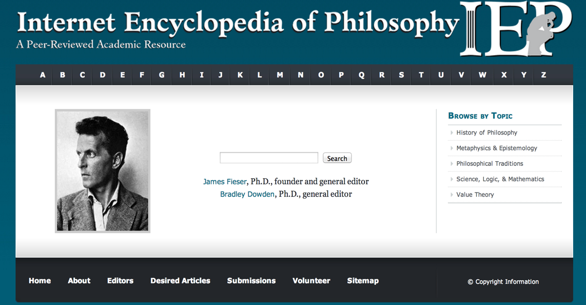 Naturalistic Epistemology  Internet Encyclopedia of