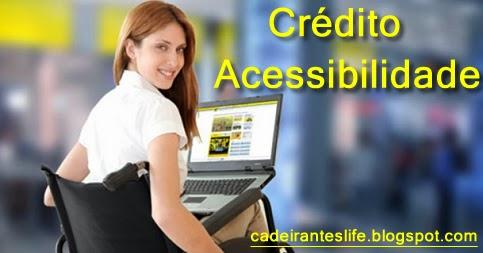 Crédito acessibilidade