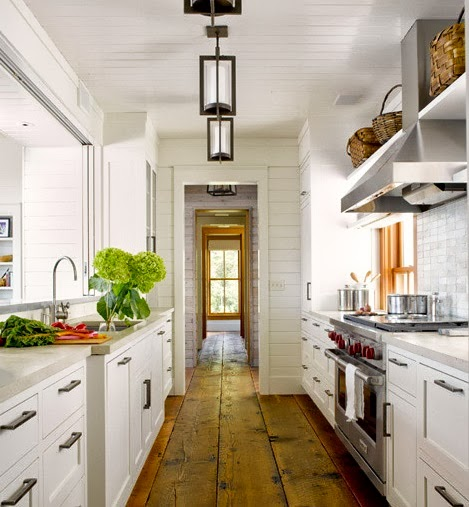 Maury island kitchen with quot wide floor boards content