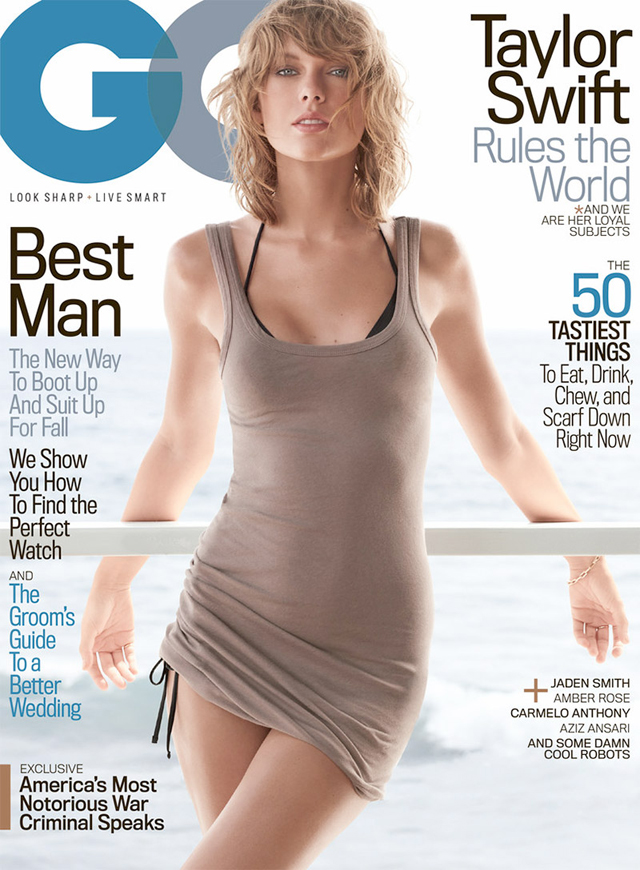 Taylor Swift en GQ magazine
