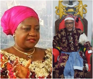 'IPOB Is Just An ATM For Nnamdi Kanu'- Buhari's Aide, Lauretta Onochie