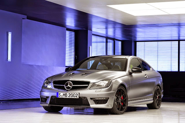mercedes c63 amg coupe edition 507