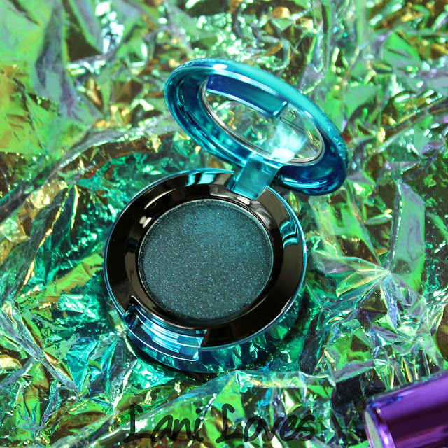MAC Magic of the Night - Tonight's the Night! Colourdrenched Pigment Swatches & Review