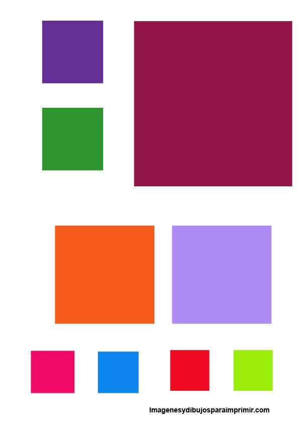 Dibujos de cuadrados para imprimir for Plafones cuadrados de pared
