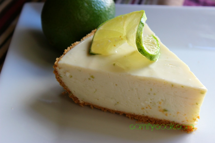 Comfy Cuisine: Reduced-Fat Icebox Key Lime Pie