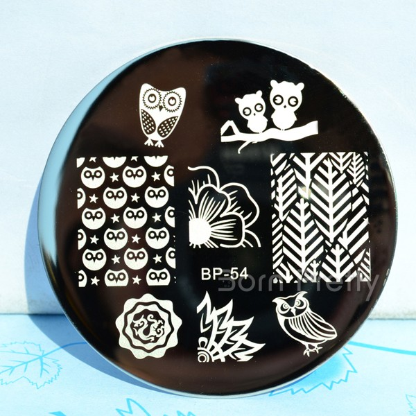 Image of Born Pretty Store stamping plate BP-54
