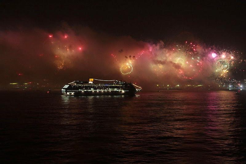Fireworks in brazil