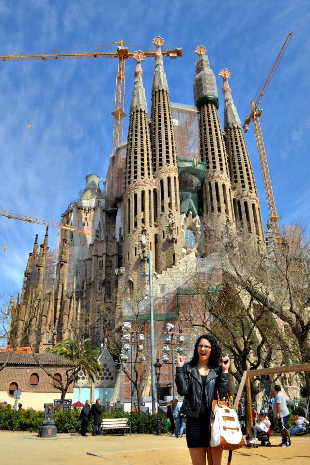 barcelona sagrada familia gaudi 2013
